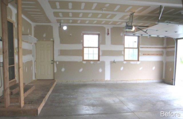 lemont garage floor epoxy painting