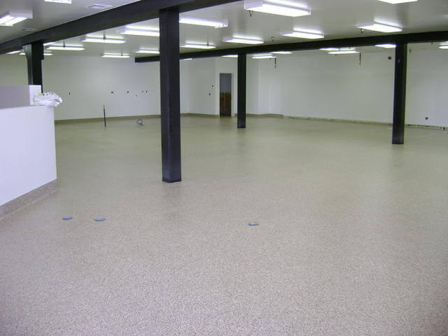 Epoxy Painting Service : Northcraft epoxy floor coating commercial services