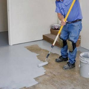 Basement Epoxy Floor Painting Services