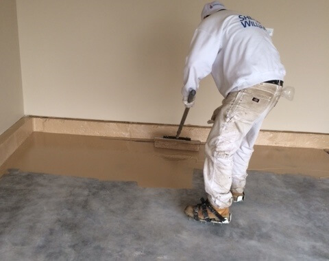 Epoxy Floor Coating Process - Painting and Coating Process of Epoxy Floor