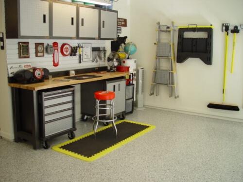 Epoxy Painting Service : Northcraft epoxy floor coating garage services