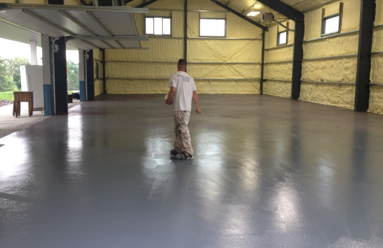 Industrial Floor Services - Industrial Epoxy Floor Services